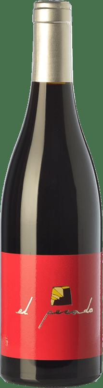 36,95 € Envío gratis | Vino tinto Raúl Pérez El Pecado Crianza España Bastardo Botella 75 cl