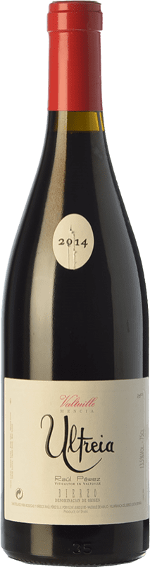 44,95 € Free Shipping | Red wine Raúl Pérez Ultreia de Valtuille Crianza D.O. Bierzo Castilla y León Spain Mencía Bottle 75 cl