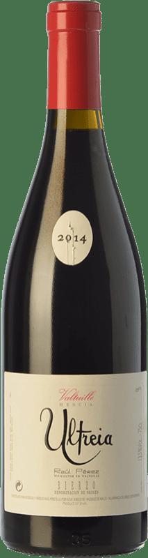 44,95 € Envío gratis | Vino tinto Raúl Pérez Ultreia de Valtuille Crianza D.O. Bierzo Castilla y León España Mencía Botella 75 cl