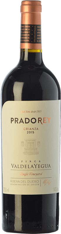 13,95 € Free Shipping | Red wine Ventosilla PradoRey Crianza D.O. Ribera del Duero Castilla y León Spain Tempranillo, Merlot, Cabernet Sauvignon Bottle 75 cl
