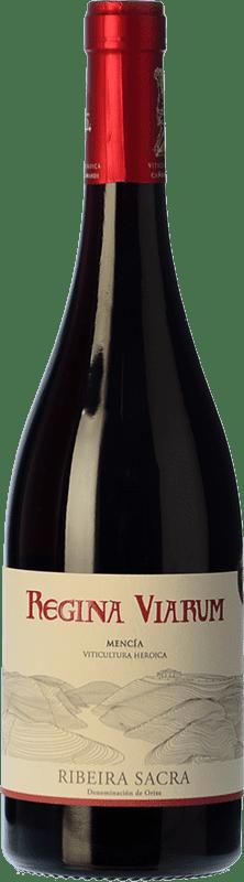 11,95 € Free Shipping | Red wine Regina Viarum Joven D.O. Ribeira Sacra Galicia Spain Mencía Bottle 75 cl