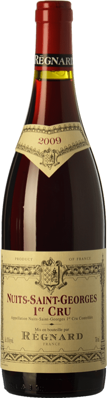 115,95 € Free Shipping | Red wine Régnard Premier Cru Crianza A.O.C. Nuits-Saint-Georges Burgundy France Pinot Black Bottle 75 cl