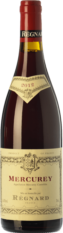 39,95 € Free Shipping | Red wine Régnard Rouge Joven A.O.C. Mercurey Burgundy France Pinot Black Bottle 75 cl