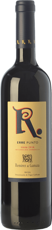14,95 € | Red wine Remírez de Ganuza Erre Punto Joven D.O.Ca. Rioja The Rioja Spain Tempranillo, Graciano, Viura, Malvasía Bottle 75 cl