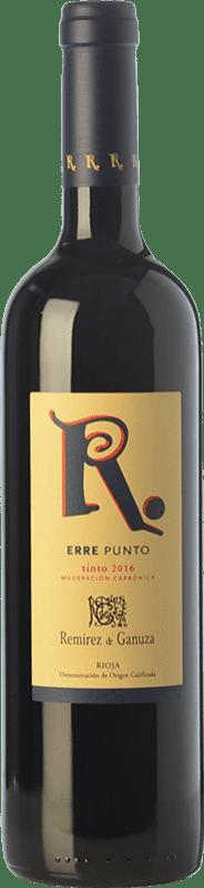 14,95 € 免费送货 | 红酒 Remírez de Ganuza Erre Punto Joven D.O.Ca. Rioja 拉里奥哈 西班牙 Tempranillo, Graciano, Viura, Malvasía 瓶子 75 cl