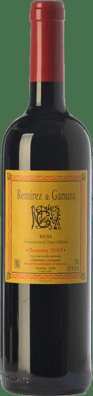 58,95 € 免费送货 | 红酒 Remírez de Ganuza Reserva D.O.Ca. Rioja 拉里奥哈 西班牙 Tempranillo, Graciano 瓶子 75 cl