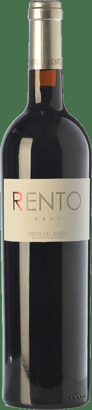 53,95 € Free Shipping | Red wine Renacimiento Rento de Carlos Moro Crianza D.O. Ribera del Duero Castilla y León Spain Tempranillo Bottle 75 cl