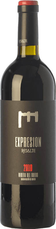 36,95 € | Red wine Resalte Expresión Reserva D.O. Ribera del Duero Castilla y León Spain Tempranillo Bottle 75 cl