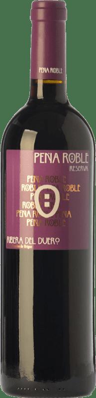 19,95 € Envoi gratuit | Vin rouge Resalte Peña Reserva D.O. Ribera del Duero Castille et Leon Espagne Tempranillo Bouteille 75 cl