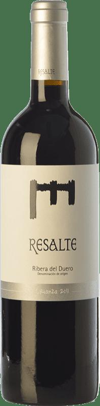 17,95 € Envoi gratuit | Vin rouge Resalte Crianza D.O. Ribera del Duero Castille et Leon Espagne Tempranillo Bouteille 75 cl