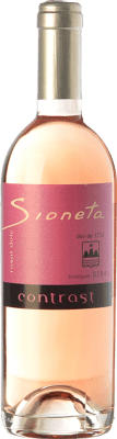 13,95 € Free Shipping | Sweet wine Ribas Sioneta Rosat I.G.P. Vi de la Terra de Mallorca Balearic Islands Spain Mantonegro Half Bottle 50 cl