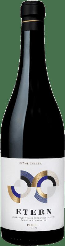 58,95 € Free Shipping | Red wine Ritme Etern Crianza D.O.Ca. Priorat Catalonia Spain Grenache, Carignan Bottle 75 cl