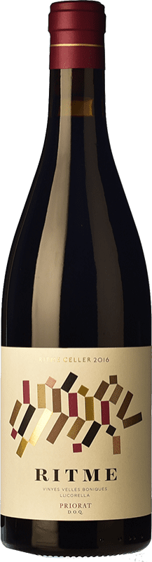 17,95 € Free Shipping | Red wine Ritme Joven D.O.Ca. Priorat Catalonia Spain Grenache, Carignan, Grenache Hairy Bottle 75 cl