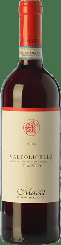 12,95 €   Red wine Mazzi Classico D.O.C. Valpolicella Veneto Italy Corvina, Rondinella, Corvinone, Molinara Bottle 75 cl