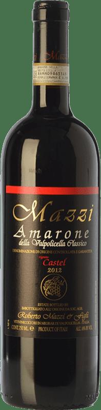 71,95 €   Red wine Mazzi Classico Castel D.O.C.G. Amarone della Valpolicella Veneto Italy Corvina, Rondinella, Corvinone, Molinara Bottle 75 cl