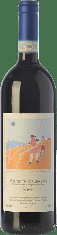 21,95 € Free Shipping | Red wine Roberto Voerzio Priavino D.O.C.G. Dolcetto d'Alba Piemonte Italy Dolcetto Bottle 75 cl