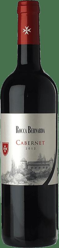 17,95 € Free Shipping | Red wine Rocca Bernarda Cabernet D.O.C. Colli Orientali del Friuli Friuli-Venezia Giulia Italy Cabernet Sauvignon, Cabernet Franc Bottle 75 cl