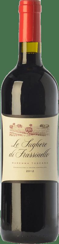 22,95 € | Red wine Rocca di Frassinello Le Sughere D.O.C. Maremma Toscana Tuscany Italy Merlot, Cabernet Sauvignon, Sangiovese Bottle 75 cl