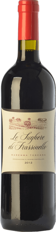 22,95 € Free Shipping | Red wine Rocca di Frassinello Le Sughere D.O.C. Maremma Toscana Tuscany Italy Merlot, Cabernet Sauvignon, Sangiovese Bottle 75 cl