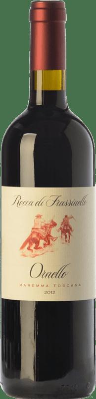 17,95 € Free Shipping | Red wine Rocca di Frassinello Ornello D.O.C. Maremma Toscana Tuscany Italy Merlot, Syrah, Cabernet Sauvignon, Sangiovese Bottle 75 cl