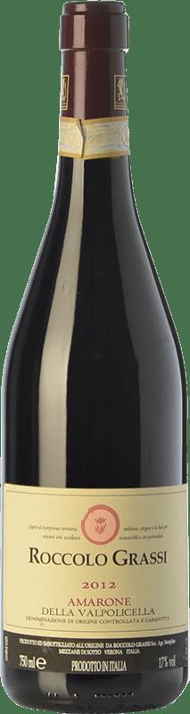 65,95 € Free Shipping | Red wine Roccolo Grassi D.O.C.G. Amarone della Valpolicella Veneto Italy Corvina, Rondinella, Corvinone, Croatina Bottle 75 cl