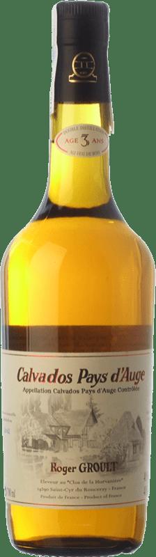 37,95 € Envío gratis | Calvados Roger Groult Pays d'Auge I.G.P. Calvados Pays d'Auge Francia Botella 70 cl