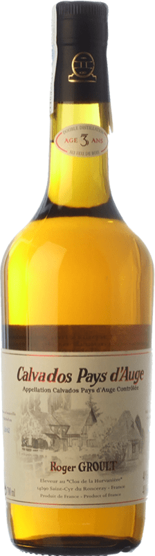 37,95 € 免费送货 | 卡尔瓦多斯 Roger Groult Pays d'Auge I.G.P. Calvados Pays d'Auge 法国 瓶子 70 cl