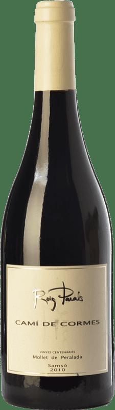 33,95 € Free Shipping | Red wine Roig Parals Camí de Cormes Crianza D.O. Empordà Catalonia Spain Carignan Bottle 75 cl