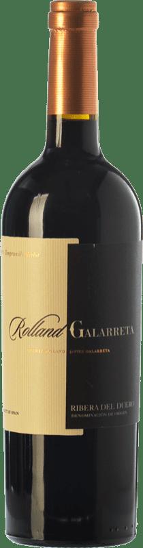 16,95 € Envoi gratuit | Vin rouge Rolland & Galarreta Crianza D.O. Ribera del Duero Castille et Leon Espagne Tempranillo, Merlot Bouteille 75 cl