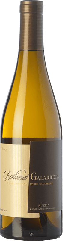 17,95 € 免费送货   白酒 Rolland & Galarreta Crianza D.O. Rueda 卡斯蒂利亚莱昂 西班牙 Verdejo 瓶子 75 cl