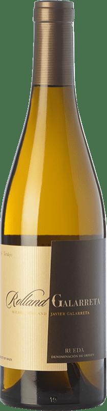 17,95 € Envoi gratuit | Vin blanc Rolland & Galarreta Crianza D.O. Rueda Castille et Leon Espagne Verdejo Bouteille 75 cl