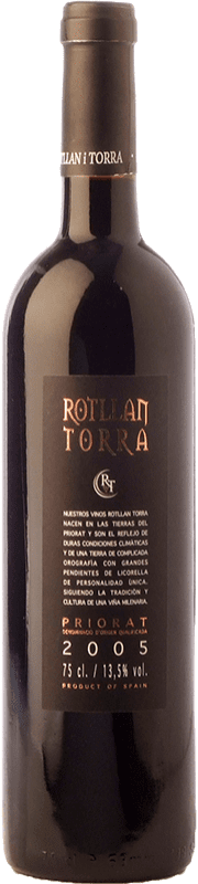 6,95 € 免费送货 | 红酒 Rotllan Torra Joven D.O.Ca. Priorat 加泰罗尼亚 西班牙 Grenache, Cabernet Sauvignon, Carignan 瓶子 75 cl