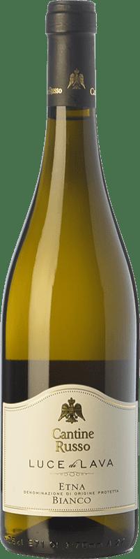 18,95 € | White wine Russo Bianco Luce di Lava D.O.C. Etna Sicily Italy Carricante, Catarratto Bottle 75 cl