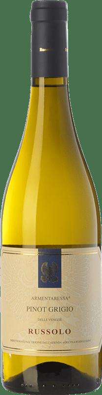 9,95 € Free Shipping | White wine Russolo Pinot Grigio Armentaressa I.G.T. Friuli-Venezia Giulia Friuli-Venezia Giulia Italy Pinot Grey Bottle 75 cl