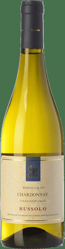 14,95 € Free Shipping | White wine Russolo Ronco Calaj I.G.T. Friuli-Venezia Giulia Friuli-Venezia Giulia Italy Chardonnay Bottle 75 cl