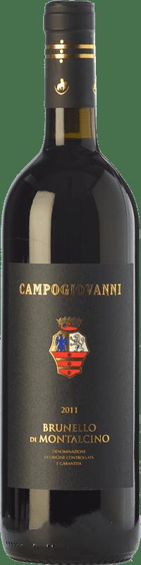 58,95 € Free Shipping | Red wine San Felice Campogiovanni D.O.C.G. Brunello di Montalcino Tuscany Italy Sangiovese Bottle 75 cl