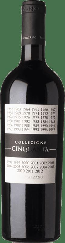 26,95 € Free Shipping | Red wine San Marzano Collezione Cinquanta Italy Primitivo, Negroamaro Bottle 75 cl