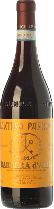 8,95 € | Red wine San Michele Cantina Parroco D.O.C. Barbera d'Alba Piemonte Italy Barbera Bottle 75 cl