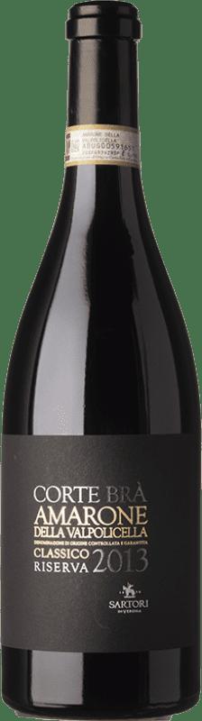 54,95 € | Red wine Sartori Amarone Classico Corte Brà 2010 D.O.C.G. Amarone della Valpolicella Veneto Italy Corvina, Rondinella, Corvinone, Oseleta Bottle 75 cl