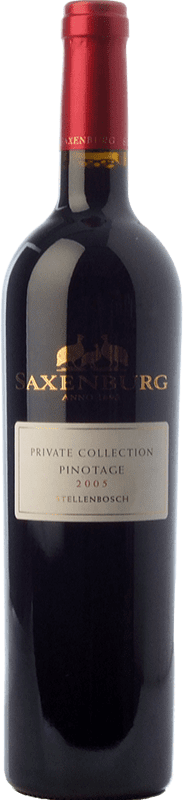 25,95 € Free Shipping | Red wine Saxenburg PC Crianza I.G. Stellenbosch Stellenbosch South Africa Pinotage Bottle 75 cl