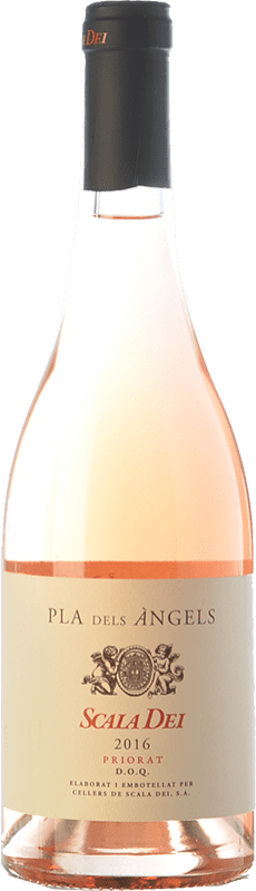 22,95 € Free Shipping | Rosé wine Scala Dei Pla dels Àngels D.O.Ca. Priorat Catalonia Spain Grenache Bottle 75 cl