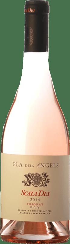 24,95 € Envío gratis | Vino rosado Scala Dei Pla dels Àngels D.O.Ca. Priorat Cataluña España Garnacha Botella 75 cl