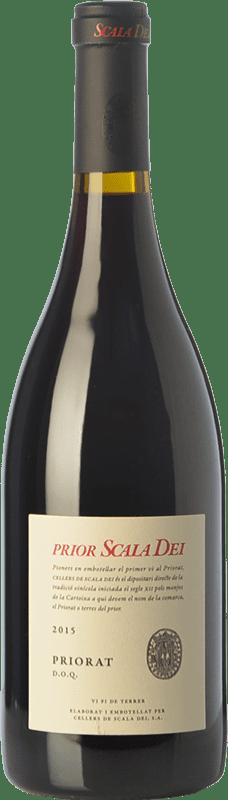 47,95 € Envío gratis | Vino tinto Scala Dei Prior Crianza D.O.Ca. Priorat Cataluña España Syrah, Garnacha, Cabernet Sauvignon, Cariñena Botella Mágnum 1,5 L