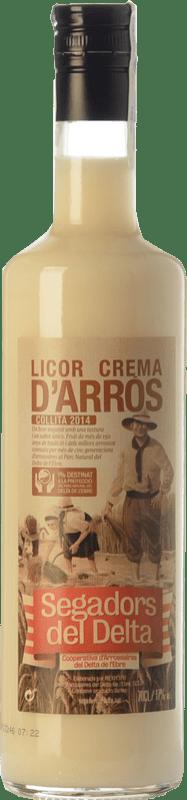 9,95 € Envoi gratuit | Crème de Liqueur Segadors del Delta Licor d'Arròs Catalogne Espagne Bouteille 70 cl