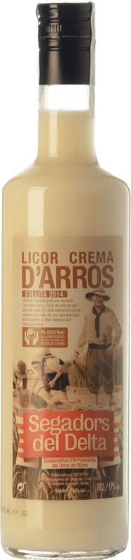 10,95 € Free Shipping | Liqueur Cream Segadors del Delta Licor d'Arròs Catalonia Spain Bottle 70 cl