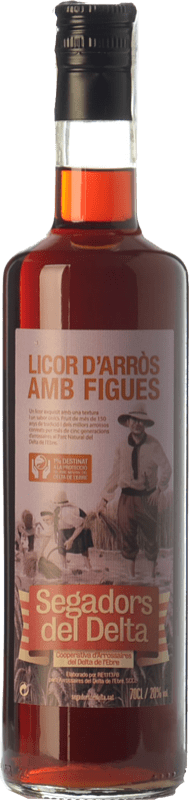 15,95 € 免费送货   利口酒霜 Segadors del Delta Licor d'Arròs amb Figues 加泰罗尼亚 西班牙 瓶子 70 cl