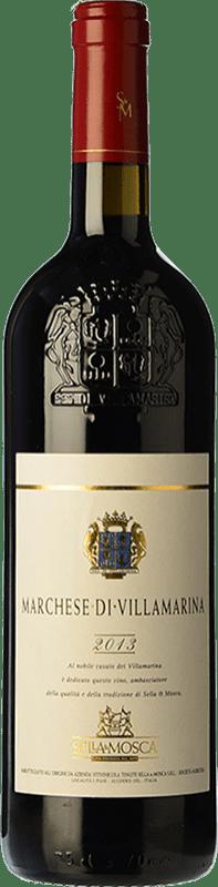 39,95 € Free Shipping | Red wine Sella e Mosca Marchese di Villamarina 2010 D.O.C. Alghero Sardegna Italy Cabernet Sauvignon Bottle 75 cl