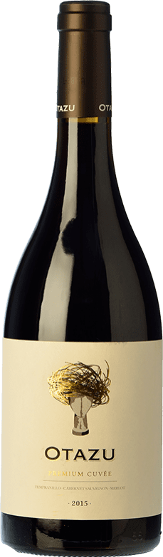 13,95 € | Red wine Señorío de Otazu Premium Cuvée Crianza D.O. Navarra Navarre Spain Tempranillo, Merlot, Cabernet Sauvignon Bottle 75 cl
