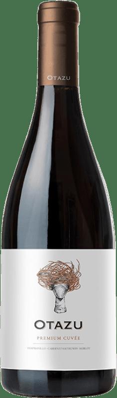 13,95 € 免费送货 | 红酒 Señorío de Otazu Premium Cuvée Crianza D.O. Navarra 纳瓦拉 西班牙 Tempranillo, Merlot, Cabernet Sauvignon 瓶子 75 cl