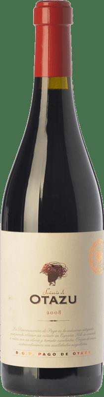 22,95 € 免费送货 | 红酒 Señorío de Otazu Reserva D.O. Navarra 纳瓦拉 西班牙 Tempranillo, Cabernet Sauvignon 瓶子 75 cl